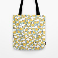 beer Tote Bags featuring Beer! by Chris Hoffmann Design