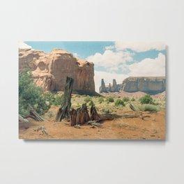 Southwest Desert Valley Metal Print