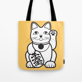 Lucky Cat - Maneki-Neko Tote Bag