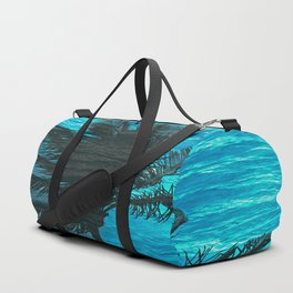 SWIMMING PALM Duffle Bag
