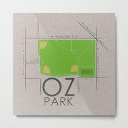 Chicago - Oz Park Metal Print