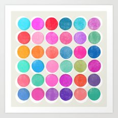 colorplay 7 Art Print