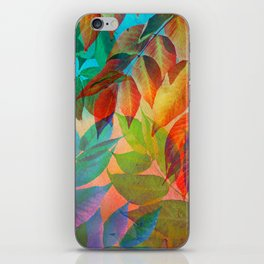 Autumn Lights and Colors iPhone Skin