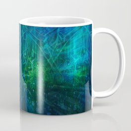 Abstract Fantasy Forest V1 Coffee Mug