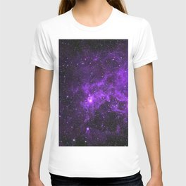 Ultraviolet Space Nebula T-shirt