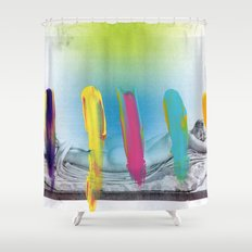 Composition 537 Shower Curtain