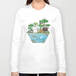 wildlife of cambodia Long Sleeve T-shirt