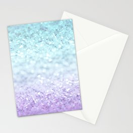 MERMAIDIANS AQUA PURPLE Stationery Cards