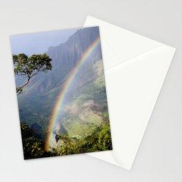 Rainbow Through the Rain: Kauai, Hawaii Stationery Cards