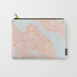 Halifax map, Canada Carry-All Pouch