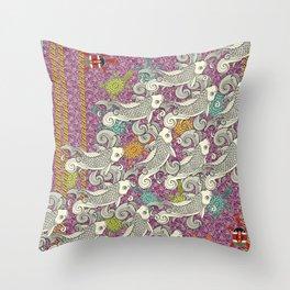 Vortici Throw Pillow