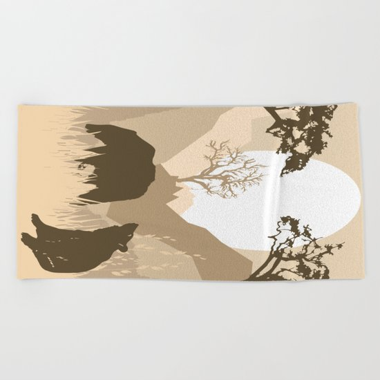 My Nature Collection No. 63 Beach Towel
