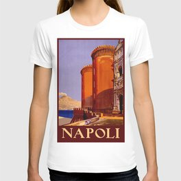 Napoli - Naples Italy Vintage Travel T-shirt
