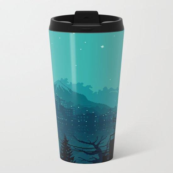 Dark Harbor Metal Travel Mug
