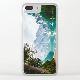 The Place To Be II Clear iPhone Case