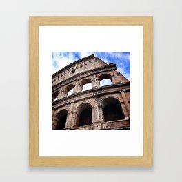 Roman Holiday  Framed Art Print