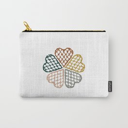 Color Waffle Carry-All Pouch