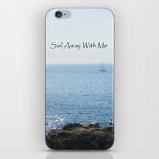 Sailing Away iPhone & iPod Skin