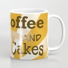 Coffee and cakes digital illustration  Coffee Mug