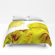 Yellow Ink Comforters