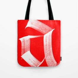 A fraktur White Tote Bag