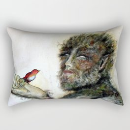 Greenman Rectangular Pillow