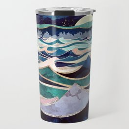 Moonlit Ocean Travel Mug
