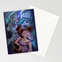 Meg and Hades Stationery Cards