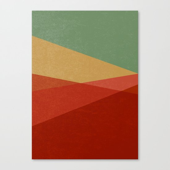 Stripe IX Modern Century Canvas Print