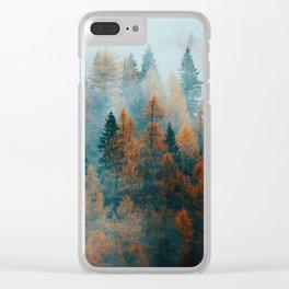 Holomontas Autumn Clear iPhone Case