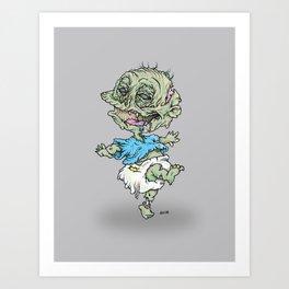 Zombie Pickles Art Print
