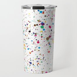 Confetti Paint Splatter Travel Mug