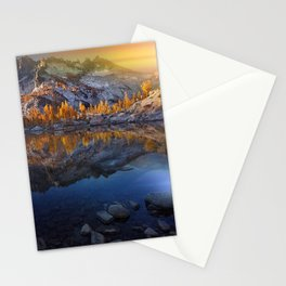 Vibrant Landscape Sunset Stationery Cards