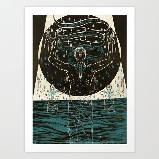 My Spirit Within You Art Print