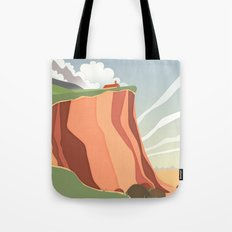 fairy landscape Tote Bag