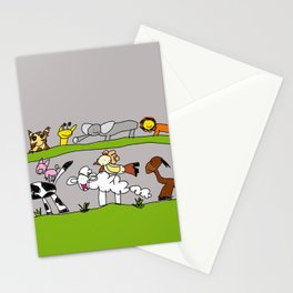 CuteAnimals Stationery Cards