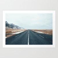 Ring Road Art Print