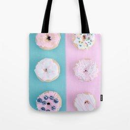 Pastel Donut Tote Bag