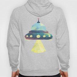 Sunset Spaceship. Hoody