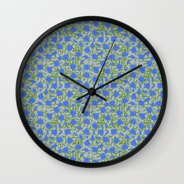 Forget-me-nots Wall Clock