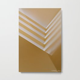 Lobby Lighting Metal Print