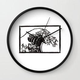 The Great Wave Of Kanagawa Wall Clock