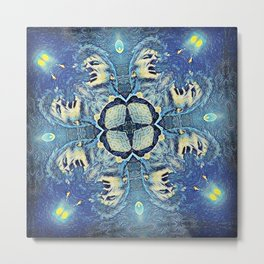 Neil Finn - Out of the Blue Metal Print