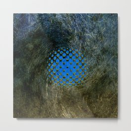 Center Dot Metal Print