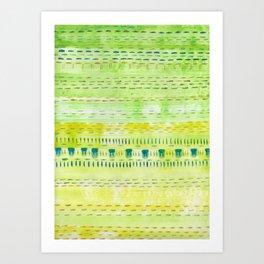 Meadow Stitch Art Print