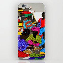 african market 1 iPhone Skin
