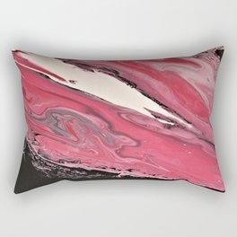Crimson Nebula Rectangular Pillow