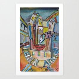 Te amo Buenos Aires Art Print