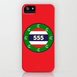 Thai flag roundel  555  HA HA HA iPhone Case