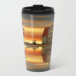 The idyll at the house of the lighthouse keeper Travel Mug